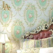 Europese Luxe Romantische Rose Bloemen Behang Voor Muren 3 D