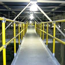 pipe handrail steel and plastic is perfect for mezzanine railing catwalk adjustable brackets kits types of pipe handrail