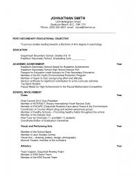 Resume For Scholarship Haadyaooverbayresort Com