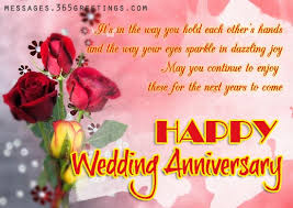 Wedding Anniversary Wishes, Messages and Wedding Anniversary ...