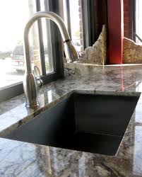 Typhoon Bordeaux Granite Kitchen Granite Typhoon Bordeaux With Undermount Sink In Showroom