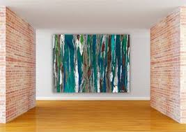 large wall paintingsWall Art Design Ideas Meadow Flower Etsy Large Wall Art Abstract