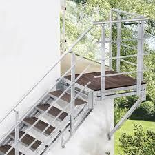 Metallbau | r&m metallbau ist ihr ansprechpartner für balkone, treppen, überdachungen, tore und zäune aus metall im raum ansbach. Aussentreppen Hier Sofort Ab Lager Kaufen Treppen Intercon