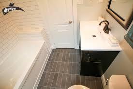 bathroom remodel toronto. White Subway Tile Standard Bathroom Renovation Rustic-bathroom Remodel Toronto