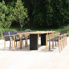 modern outdoor dining furniture. Delighful Furniture FueraDentro Doble MINIMALIST Garden DINING Furniture Designed By Henk  Steenbakkers  ARCHITECTURAL Dining TABLE With Modern Outdoor