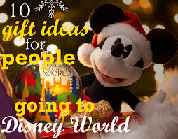 gift ideas for disney world bound families