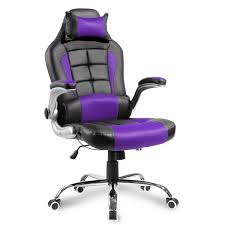 Merax High Back PU Leather Executive Office Racing Gaming Chair ...