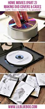 Making A Cd Case How To Make Simple Dvd Labels And Case Covers With Free Templates