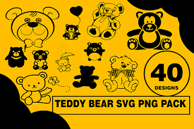 Svg Baby Bear Silhouette Free Svg Cut Files Create Your Diy Projects Using Your Cricut Explore Silhouette And More The Free Cut Files Include Svg Dxf Eps And Png Files