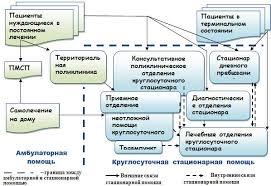 Управление качеством медицинской помощи Глава Общая идеология  Связующие звенья между потоками пациентов амбулаторного и стационарного этапов оказания медицинской помощи