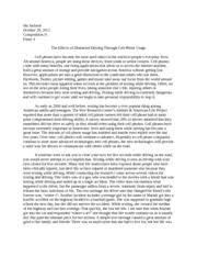 sample essay about texting while driving persuasive essay an unbelievable 81 percent of americans admit to texting while driving despite the numerous warnings about the dangers of doing so