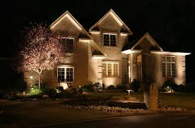 lighting design ideas exterior house lights electrical contractor rochester ny fairport modern night style unique