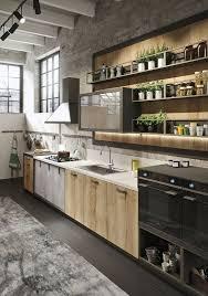 Industrial Kitchen Loft Snaidero Usa Snaiderousa