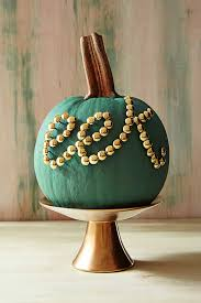 touch of tacky color and pattern for the pumpkin from annies loan