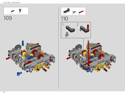 The lego technic bugatti chiron model car building kit can be built together with all lego technic sets and lego bricks for creative construction and extended play. Lego 42083 Bugatti Chiron Instructions Technic