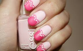 Valentine's Day Nail Art: Pretty In Pink Hearts Manicure (PHOTO ...