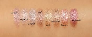 Hourglass Scattered Light Swatches Hourglass Scattered Light Eye Shadow Swatches Via The Beauty