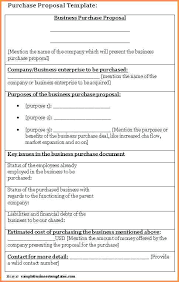 A Purchase Proposal Template Word Design Poster Sample Business ...