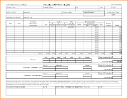 Travel: Travel Expense Form Expenses Report Excel Templates Claim ...