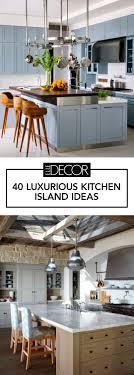 Island decor ideas Kitchen Islands Elle Decor 50 Stylish Kitchen Islands Photos Of Amazing Kitchen Island Ideas