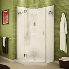 maax maax shower solution daylight neo angle 36 in corner shower kit blur lowe s canada