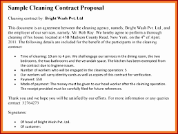 10 Cleaning Proposal Templateahjq5F | Templatezet
