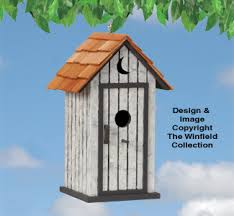 Birdhouse Patterns Stunning Birdhouse Wood Patterns Outhouse Birdhouse Plans