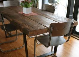 E Reclaimed Kitchen Table Awesome Marvelous Wood Dining Alluring Industrial  Furniture Pertaining To 17