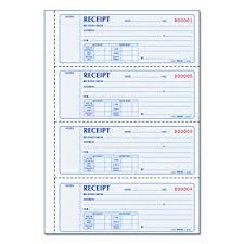 Rediform Prestige Duplicate Carbonless Softcover Money Receipt Books 8l806