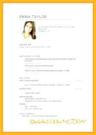 Promotional Model Resume Template Enchanting Model Cv Template Lccorpco