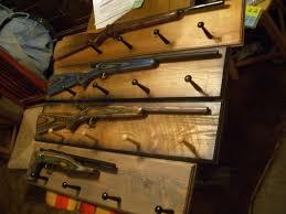 Rifle Coat Rack Gun Coat Racks or Coat Racks with Guns by Hacksaw100 53