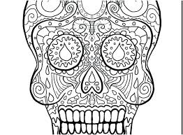 Day Of The Dead Coloring Sheets Day Of The Ad Coloring Pages Sign