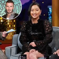 June 27, 2020 in actresses by romanticwarrior   4 comments. La Vez Que David Beckham Atrapo A Lana Condor Acosandolo En Una Tienda E Online Latino Ar