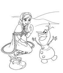 Anna E Olaf 2 Disegni Da Colorare Gratis Disegni Da Colorare E