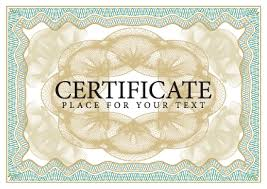Certificate Borders Free Download Custom Certificate Design Vector Frame Vector Free Vector Download In AI