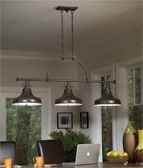 dinning room lighting. Triple Bar Island Or Dining Table Light Dinning Room Lighting