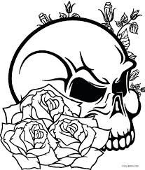 amazing roses coloring sheets superior pages of and skulls rose color sevimlimutfak
