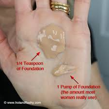 spf in foundation palm