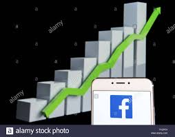 Facebook Stock Live Chart Hong Kong 11th Feb 2019 In This Photo Illustration A