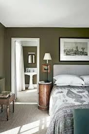 deep moss green green bedroom walls