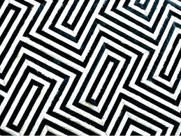 black and white geometric area rug rugs uk bla