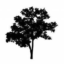 木シルエット イラストの無料ダウンロードサイトシルエットac