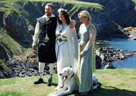 wiccan wedding. The tale of the Wiccan witch and the Great Dane in Bowness