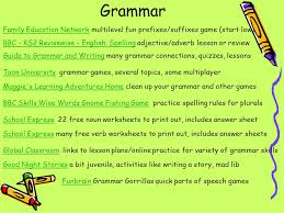 Printable grammar games ks2 | Download them and try to solve