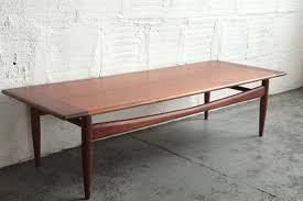 teak coffee table. MCM Teak Coffee Table ·