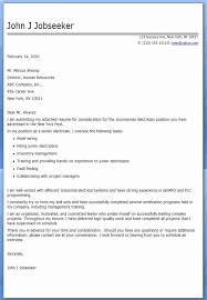 Electrician Cover Letter 2 Awesome Cover Letters Still Used