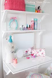 diy vanity table for teen