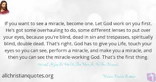 Miracle Quotes Amazing William Marrion Branham Quote About First Miracle Spiritual