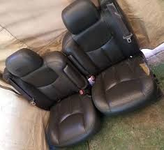 silverado leather seat cover leather power electric seats