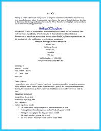 Audition Resume Template Interesting Musical Theatre Resume Template Administrative Assistant Resumes
